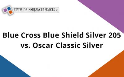 Blue Cross Blue Shield Silver 205 vs. Oscar Classic Silver