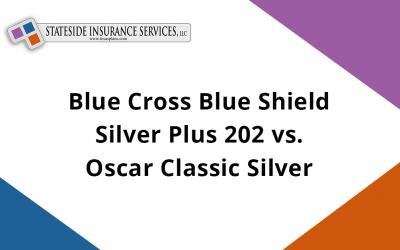Blue Cross Blue Shield Silver Plus 202 vs. Oscar Classic Silver