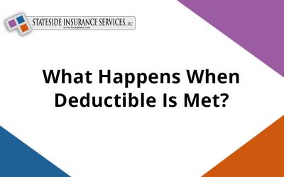What Happens When Deductible Is Met?