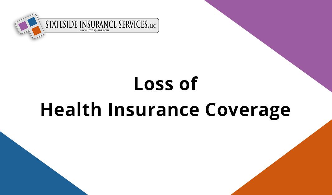 Loss of Health Insurance