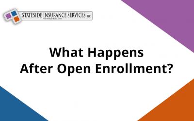 What happens after Open Enrollment ends on December 15, 2020?
