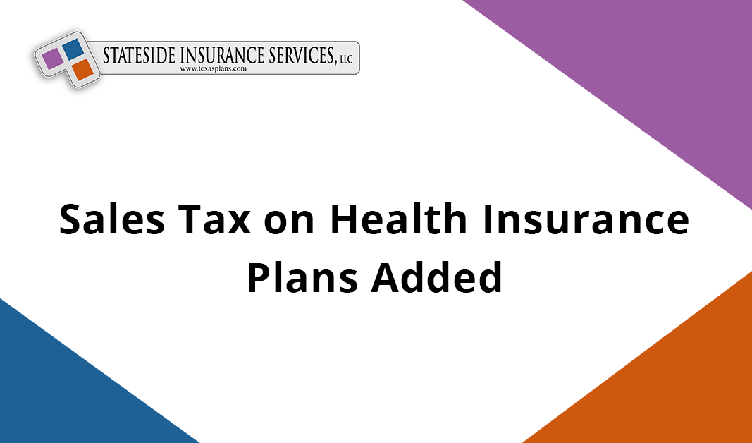 sales tax on health insurance