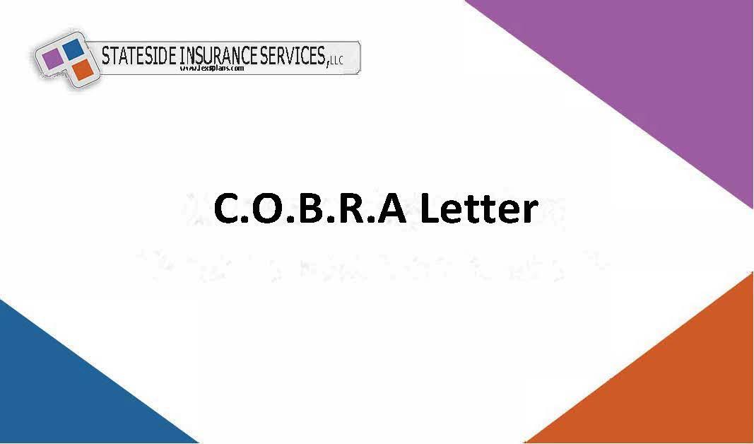 COBRA Letter