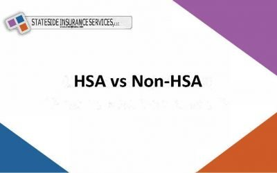 What are the major differences between HSA plans and Non-HSA plans?