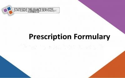 Why do health insurance policies rely on drug formularies?