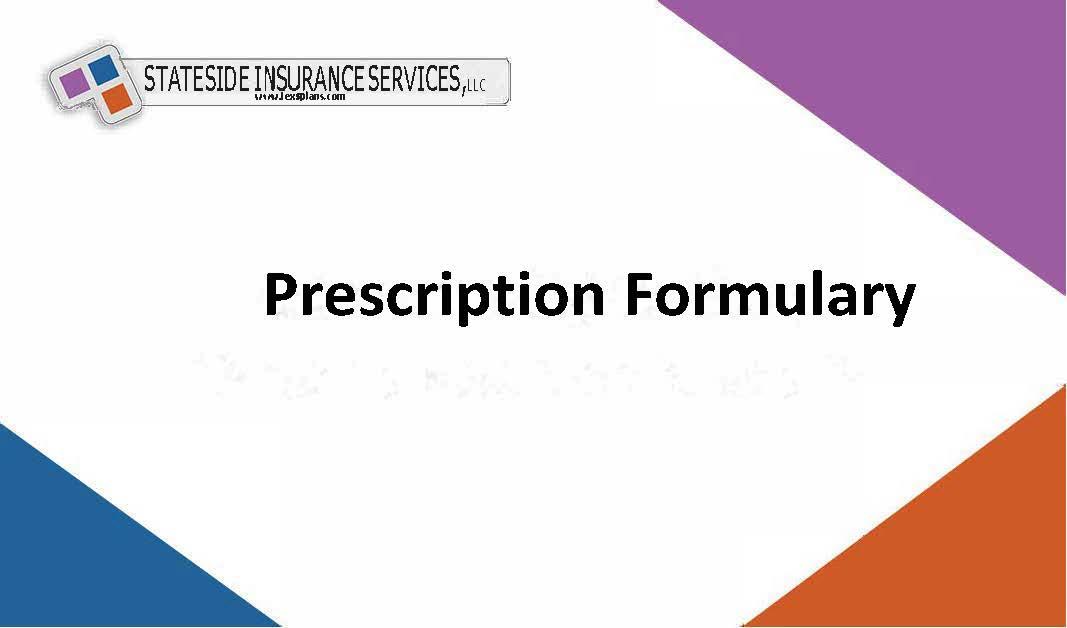 Prescription Formulary